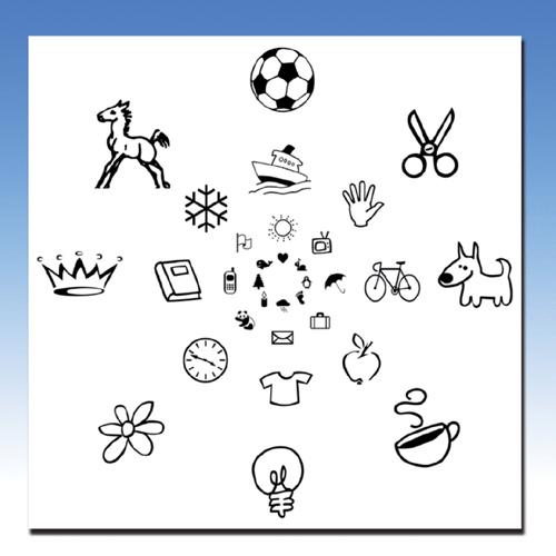 Children's Peripheral Awareness Chart (Pkg. of 30) (VTE)