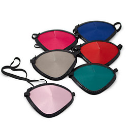 Bright Colored Eye Patches (Pkg. of 6)