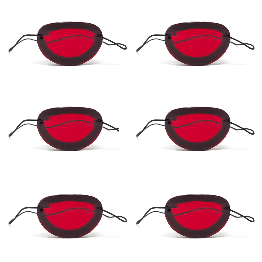 Foam Occluders (Pkg. of 6) - Red Filter