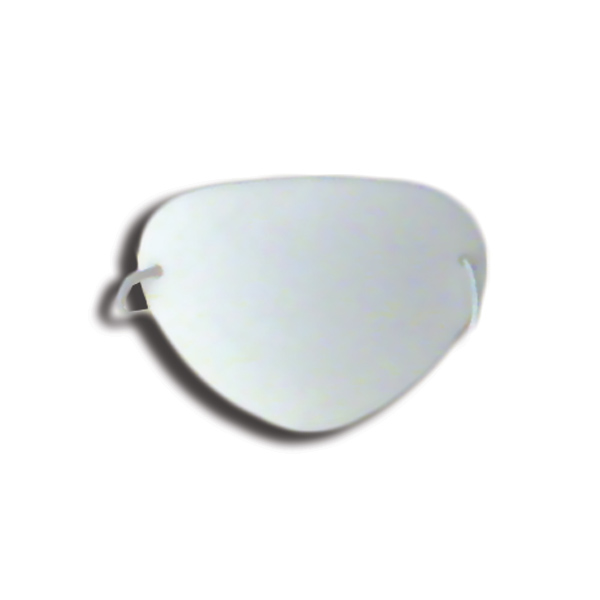 Eye Shields with Foam (Small) - Color: White (Pkg. of 6)