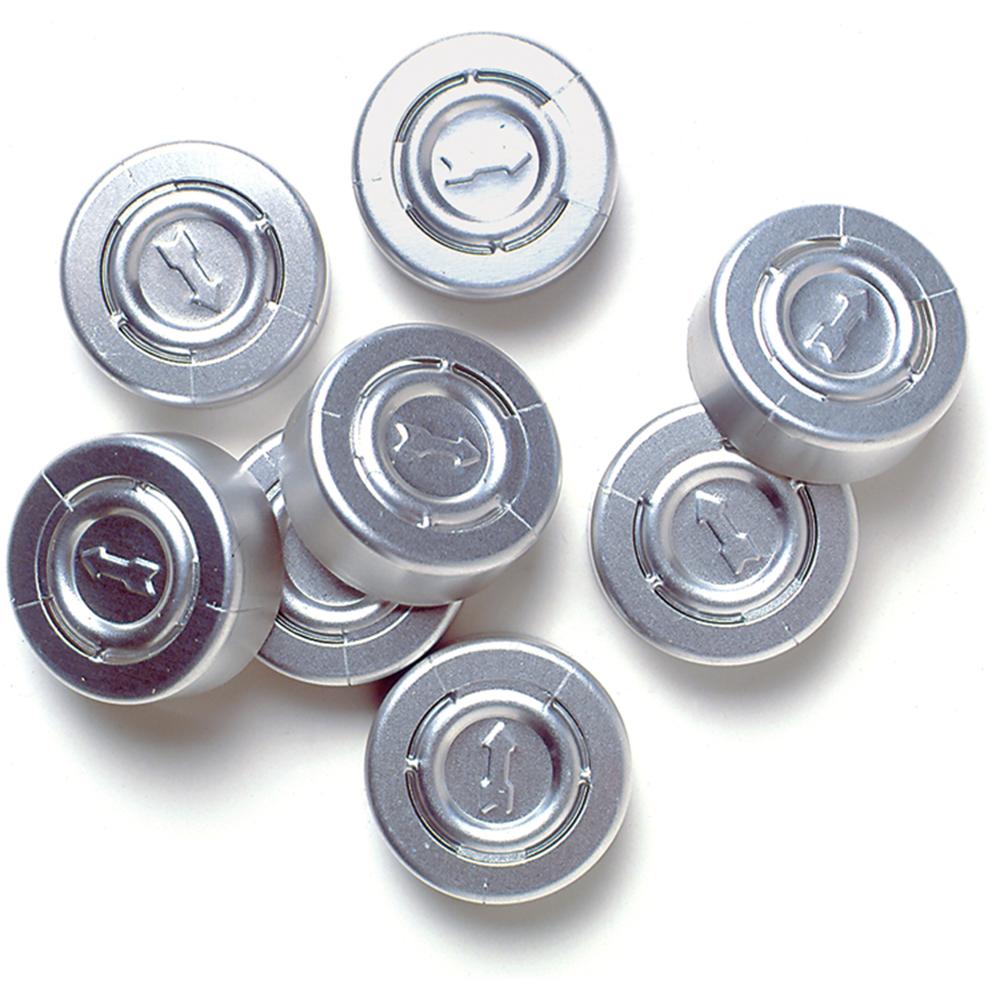 Aluminum Vial Caps - Pkg. of 200