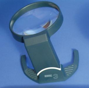(E) Coil High Power Cantilever Tilt Stand 4x Magnifier