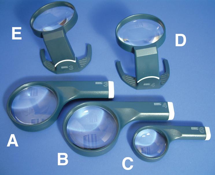 Coil Hi-Power Magnifiers
