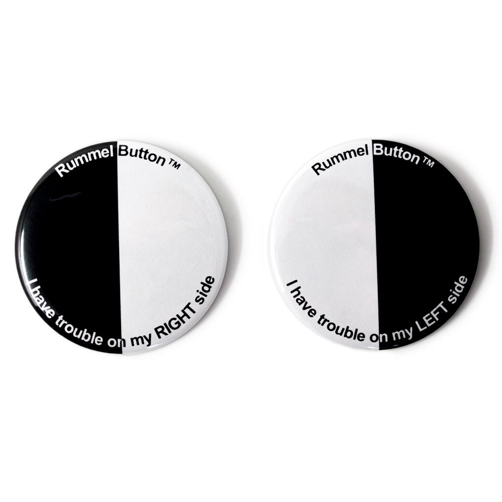 Rummel Hemianopsia Buttons™