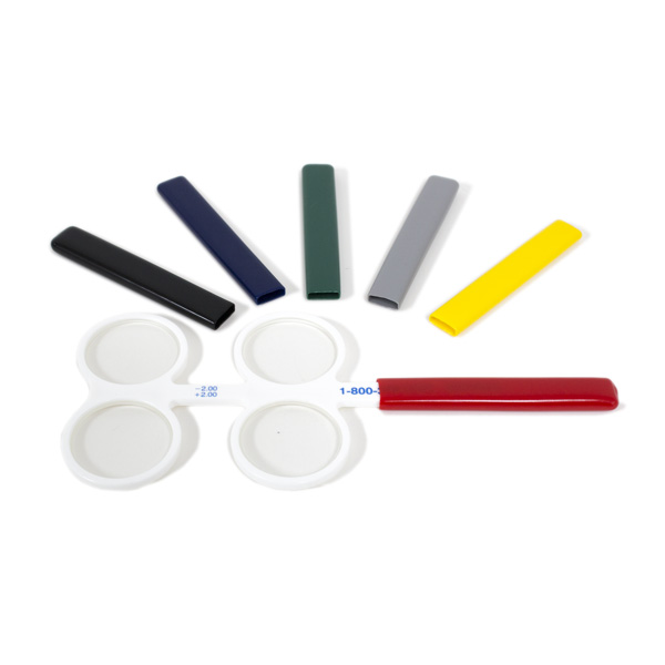 Colored Confirmation Flipper Handle Covers