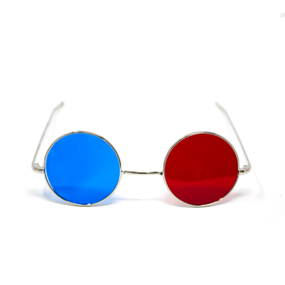 Reversible Metal Frame with Red/Blue Lenses