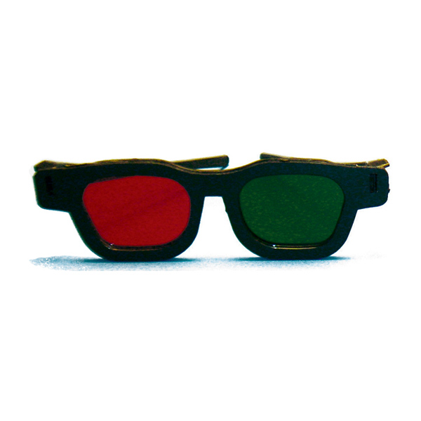 Original Bernell Model Goggles - Original Bernell Model - Red/Green Goggles (Single Pair)