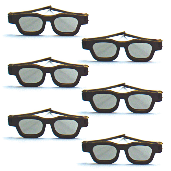 Original Bernell Model - Polarized Goggles (Pkg. of 6)