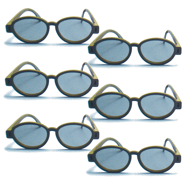 Modern Model - Polarized Goggles (Pkg. of 6)