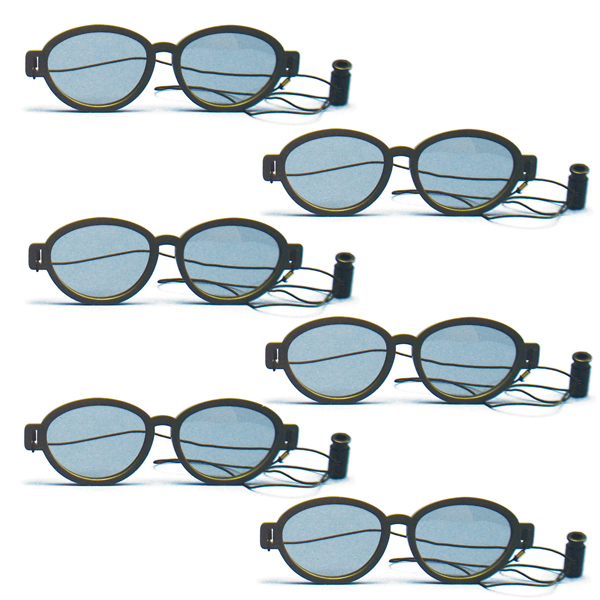 Modern Model - Polarized Goggles with Elastic (Pkg. of 6)