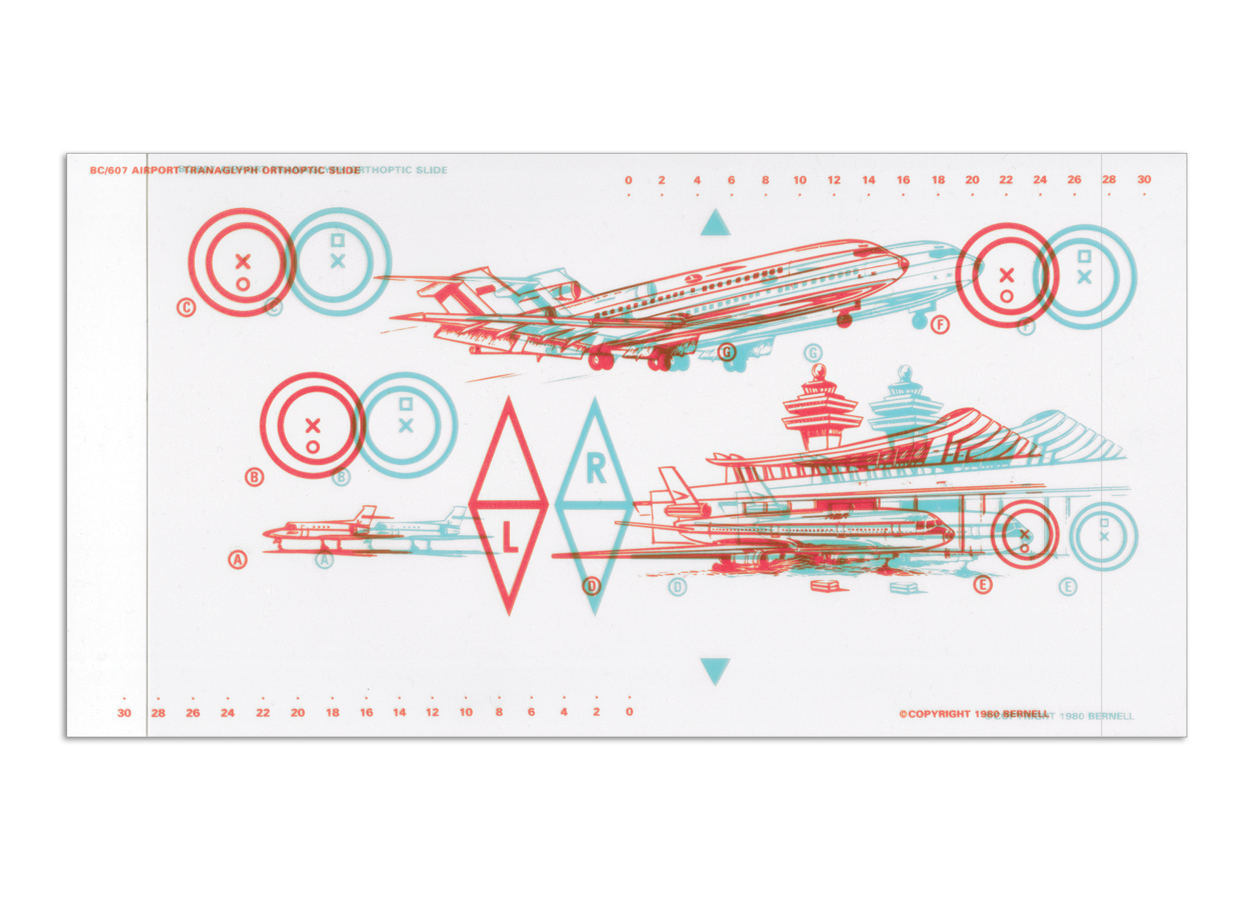 Variable  Tranaglyph™ - Airplane (D)