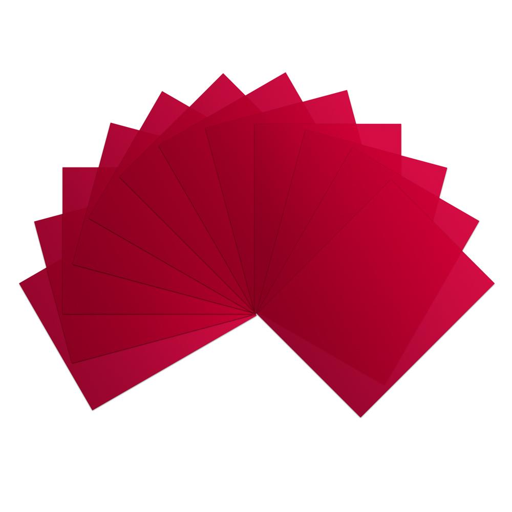 Red Vinyl Sheets (Pkg. of 12)