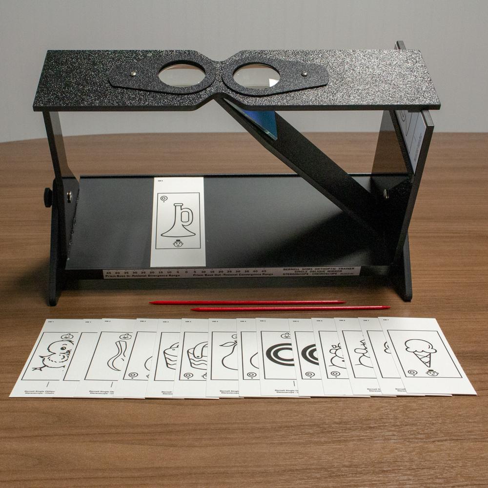Single Oblique Stereoscope™ (Cheiroscope)