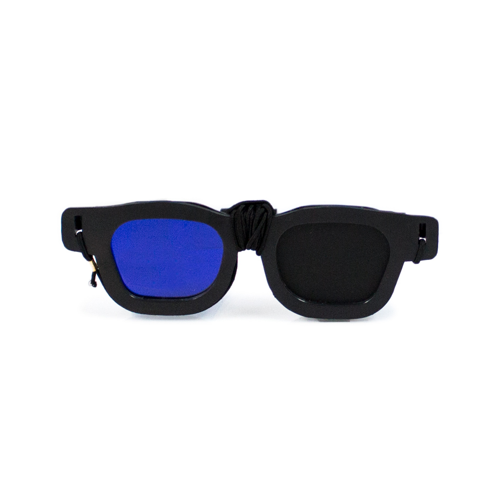 Replacement - Blue/Black Goggle