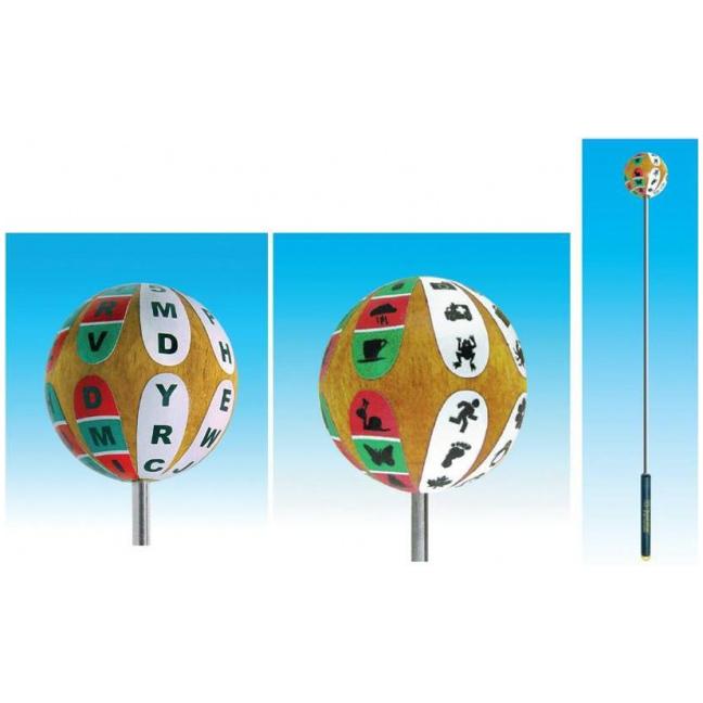 Sphere Target (VTE) - (Letters & Numbers or Figures)