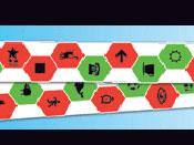 Antisuppressive Door Saccades (Magnet) with Childrens Figures (VTE)