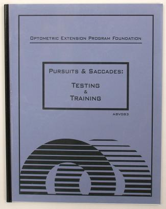 Pursuits & Saccades: Testing & Training