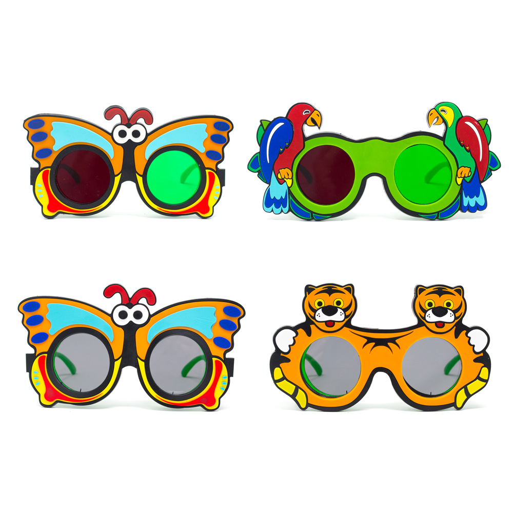 Fun Foam Goggles with Animal Figures