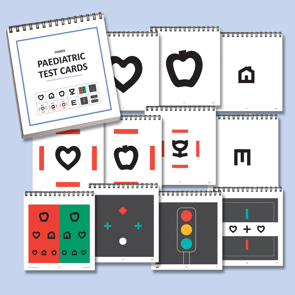 Pediatric Test Cards (66 Cards)