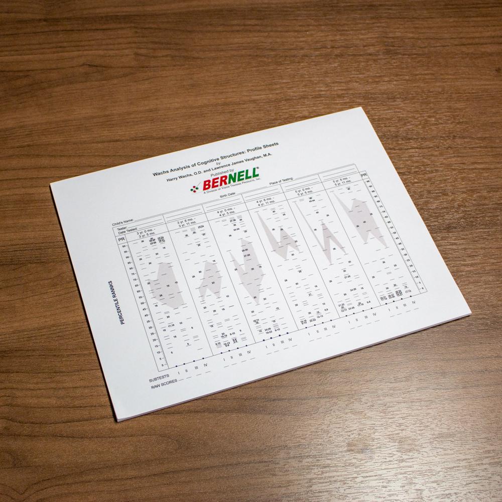 (WACS)© Test Kit - Profile Sheets - Pad of 25