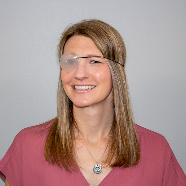 Flexible Translucent Eyepatches
