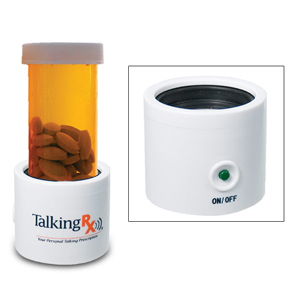 Talking Medicine Bottle (12-20 Dram)