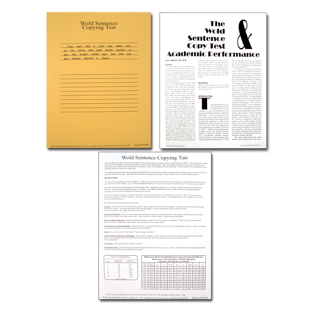 test of visual perceptual skills pdf
