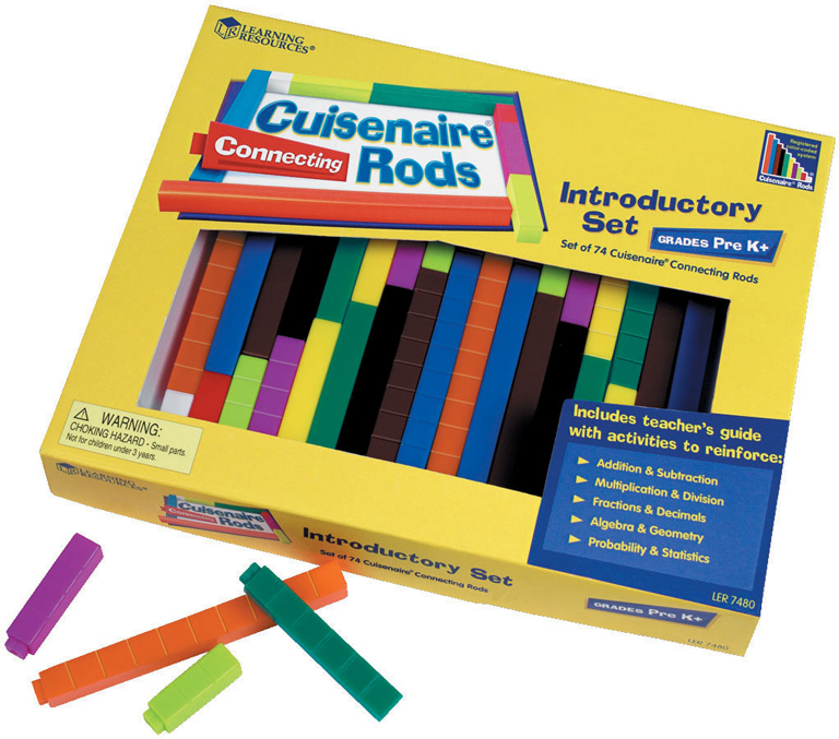 Connecting Cuisenaire® Rods Introductory Set