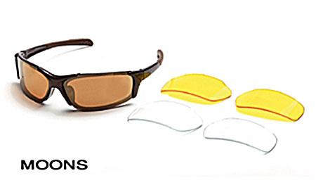 Body Specs Moons Sunglasses (Metallic Brown)
