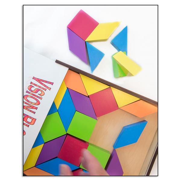 Multi-Colored Vision Blocks