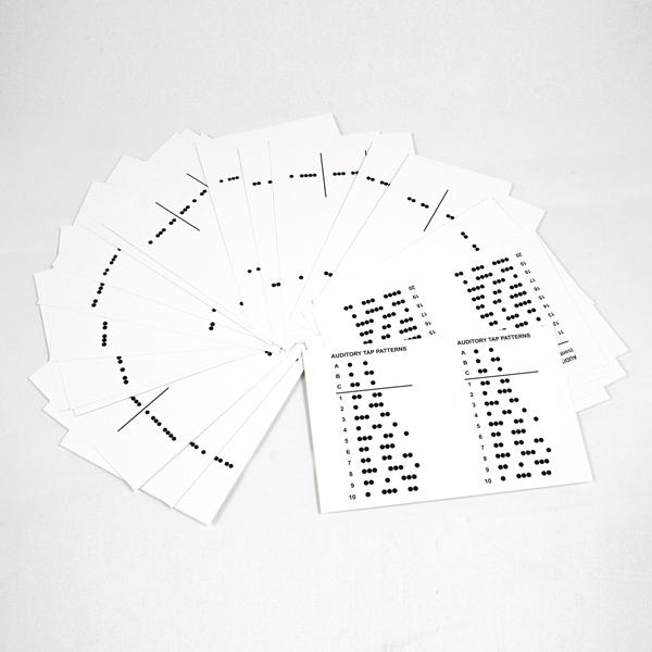 Birch-Belmont Auditory-Visual Integration Test Cards (AVIT)