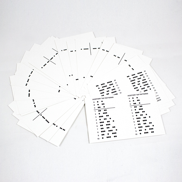 Birch-Belmont Auditory-Visual Integration Test Cards (AVIT)