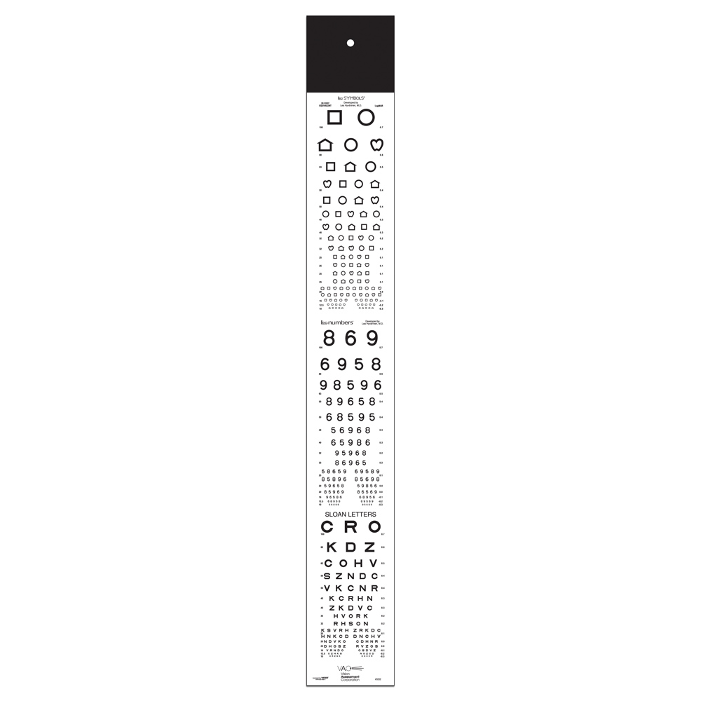 LEA Symbols/NUMBERS® and Letters Projector Slide