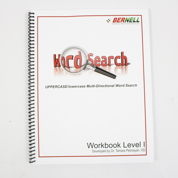 Petrosyan Word Search - Level 1 Workbook
