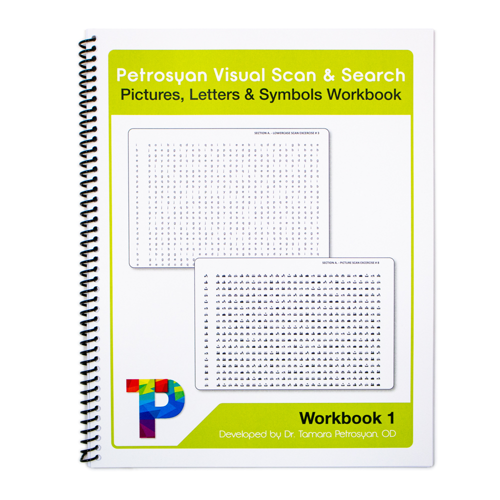 Petrosyan Visual Scan and Search Workbook - Level 1