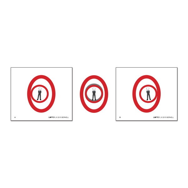 Little Man Fusion Trainer Cards™ - Clear Pkg. of 5 Sets (10 cards)