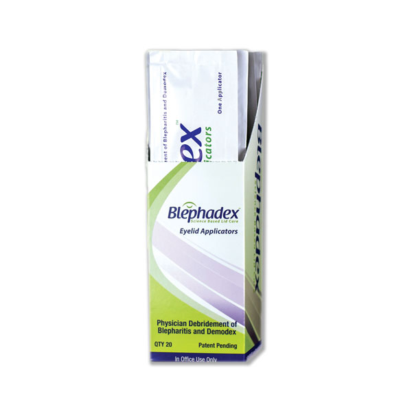 Blephadex™ Eyelid Applicators (For In-Office Use) - Box of 20