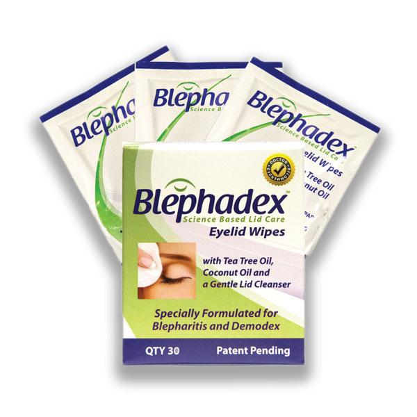 Blephadex&trade; Eyelid Wipes<br> (Pkg. of 30)