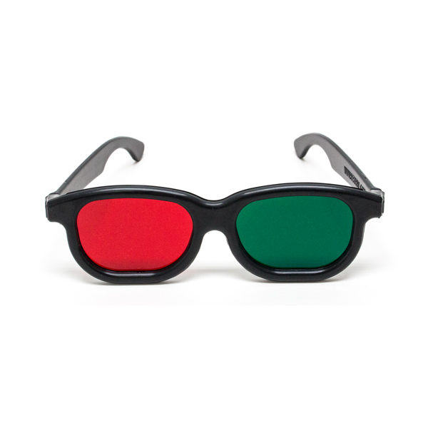 New Age - Red/Green Goggles - (Lenses Not Glued) - Single Pair