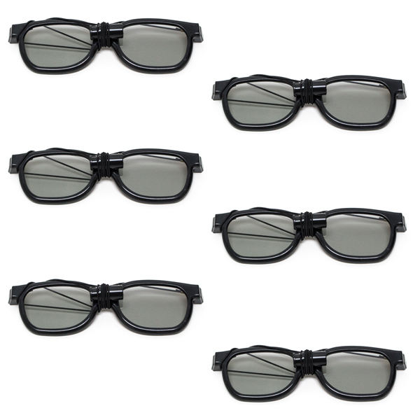 New Age - Polarized Goggles with Elastic (Pkg. of 6)