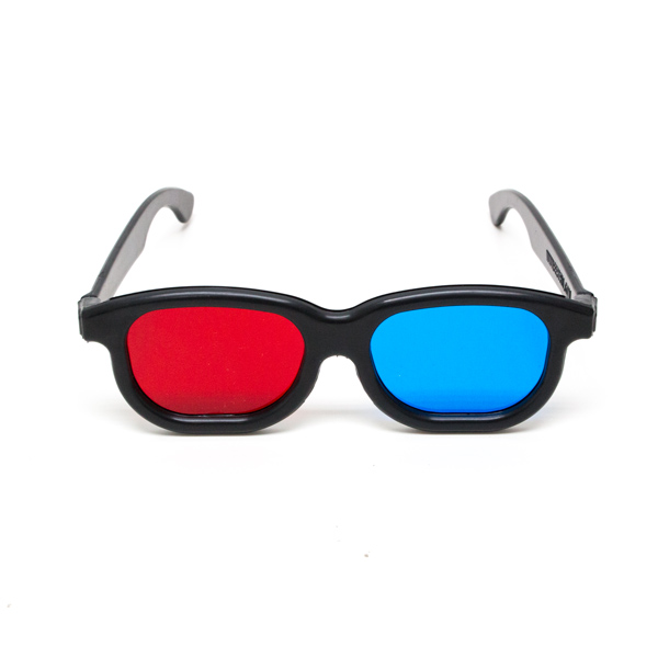 New Age - Red/Blue Computer Goggles (Single Pair)