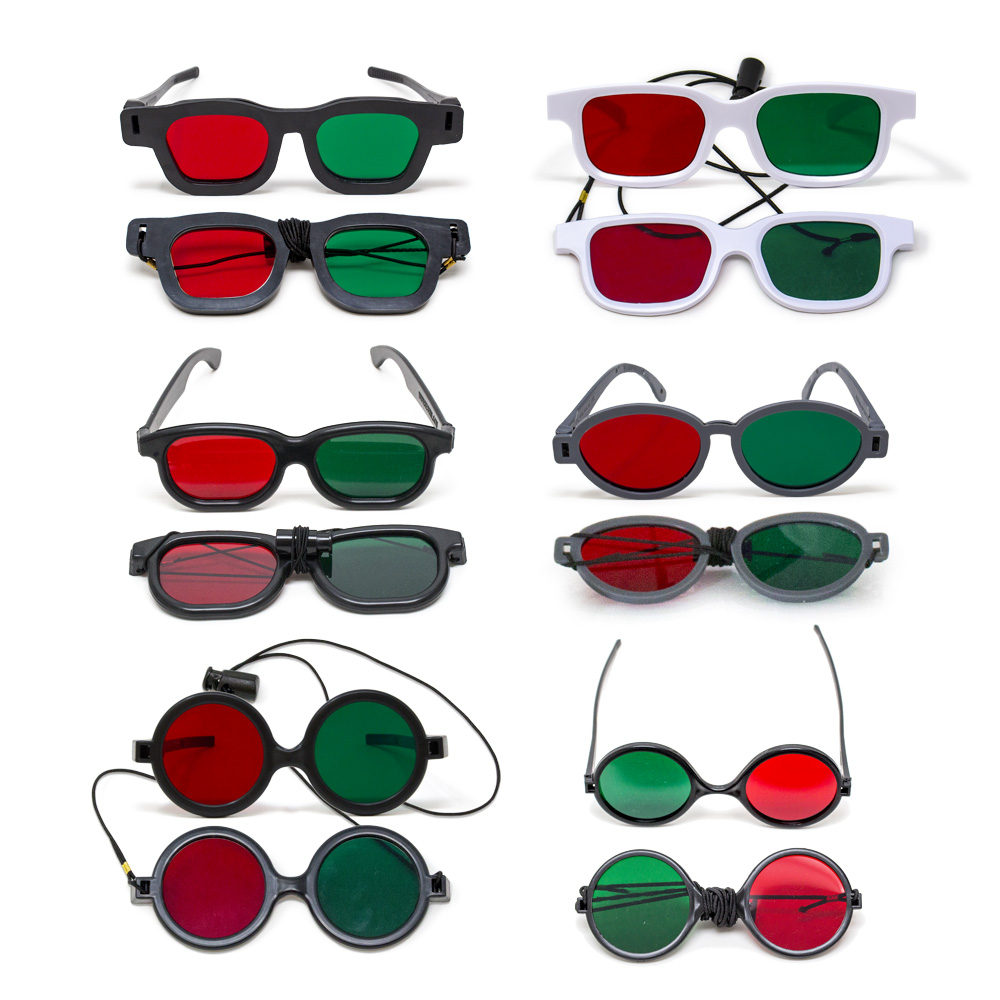 Bernell Red/Green Goggles Variety Pack (12 Goggles)