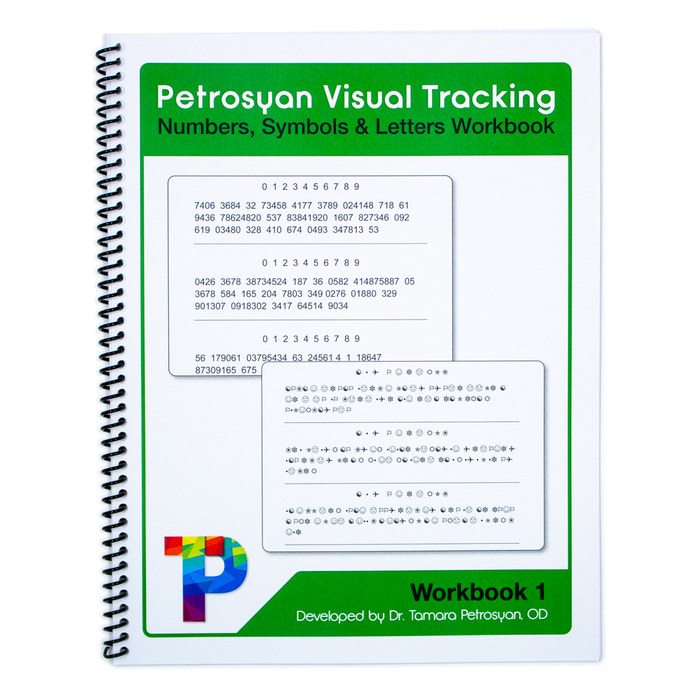 Petrosyan Visual Tracking - Numbers, Symbols and Letters