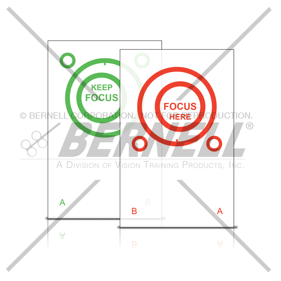 Bernell Red/Green Eccentric Circles