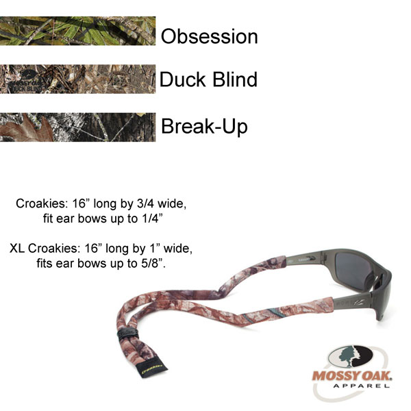 Croakies® Mossy Oak Suiters