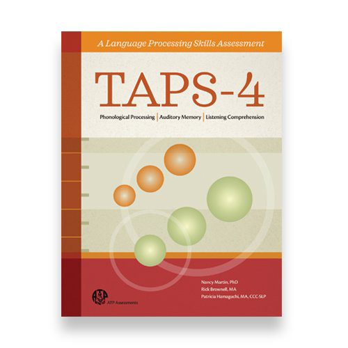 Test of Auditory Processing Skills, Fourth Edition (TAPS-4)