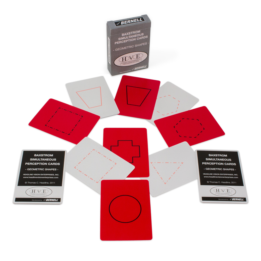 Baxstrom Simultaneous Perception Cards - Geometric Shapes
