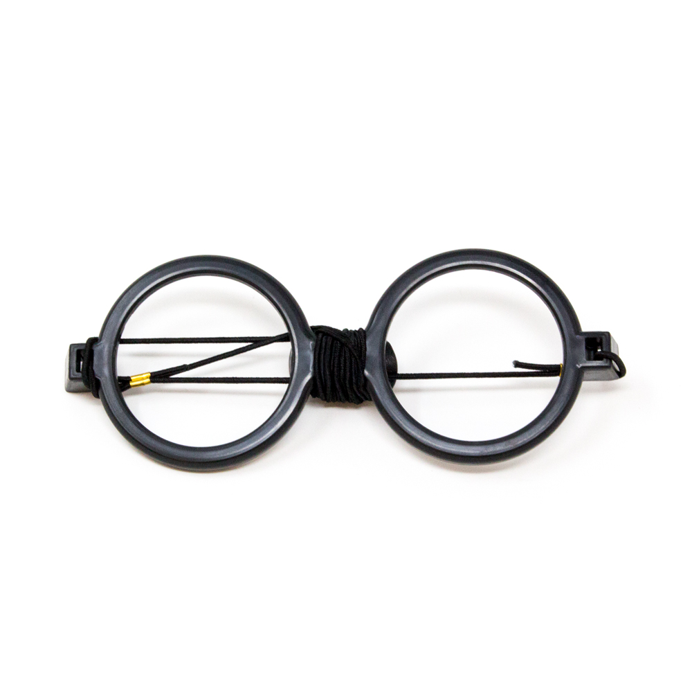 Deluxe Reversible Goggles with Elastic (Black Frame Only)