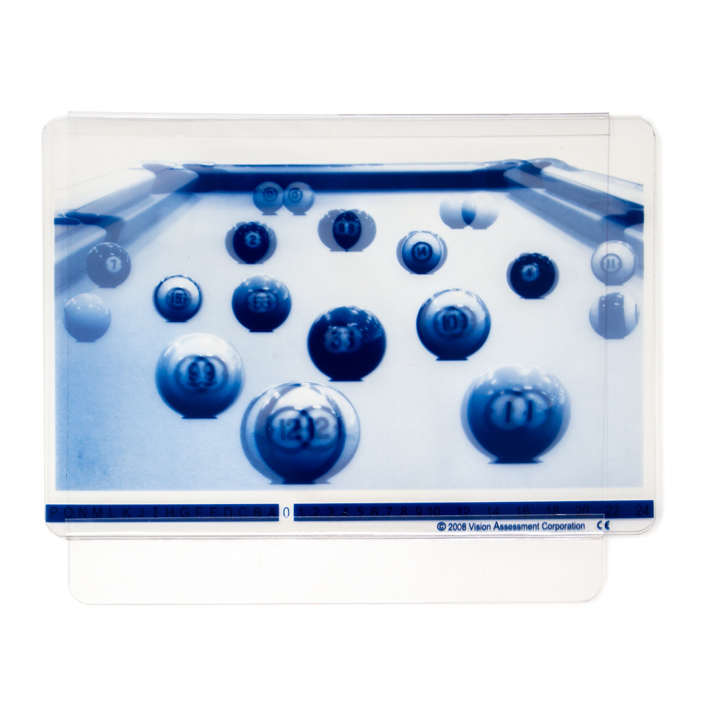 Pool Balls Polarized Variable Vectograph