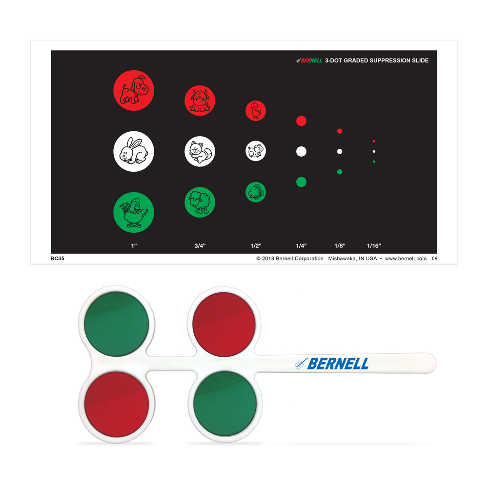 Bernell 3-Dot Graded Suppression Slide